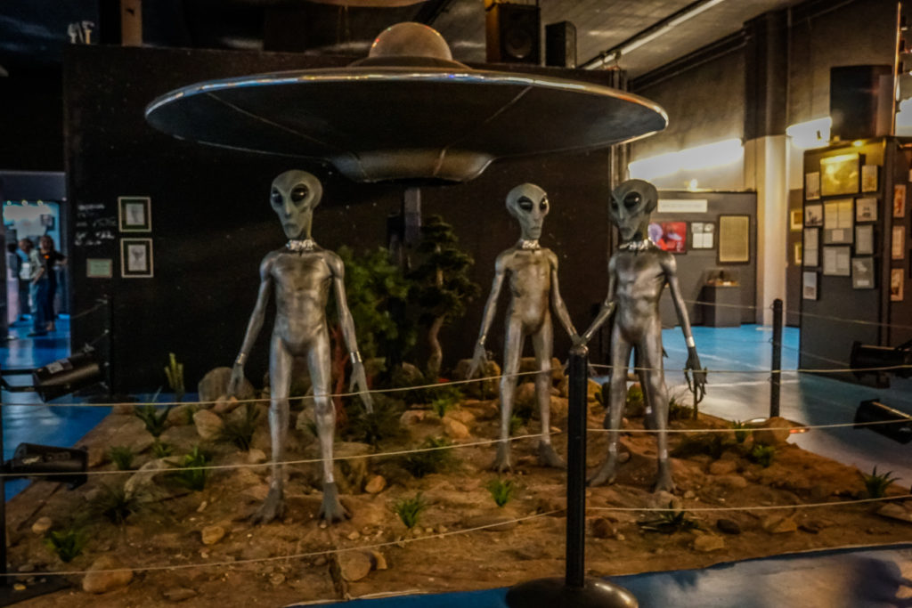 One of the top Roswell tourist attractions is the International UFO Museum and Research Center