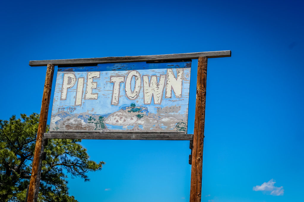 A must do on any New Mexico road trip is a stop at Pie Town!
