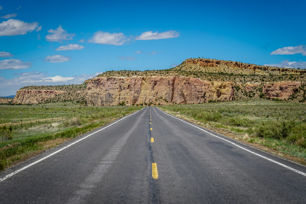 The scenery on a New Mexico road trip is varied and stunning