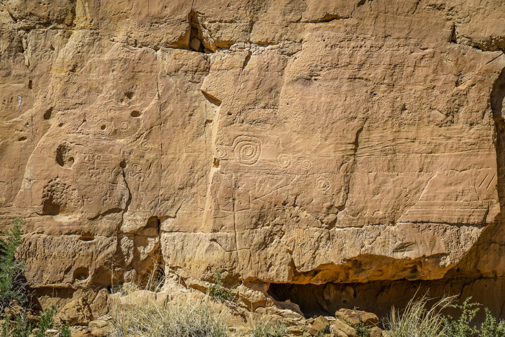Chaco Culture National Historical Park is a fascinating place to visit in New Mexico and a good stop on a New Mexico road trip