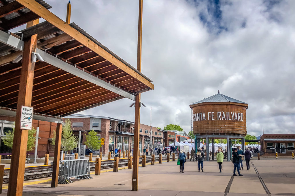 Add a visit to the Santa Fe Railyard to your Santa Fe itinerary