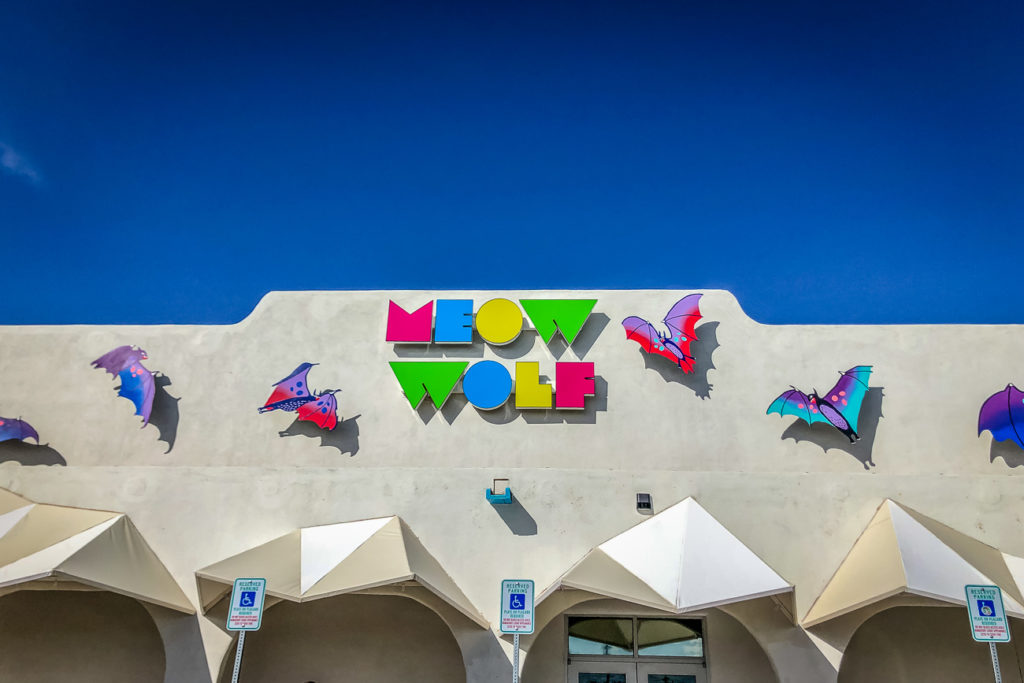 Meow Wolf is one of the best places to visit in Santa Fe, New Mexico